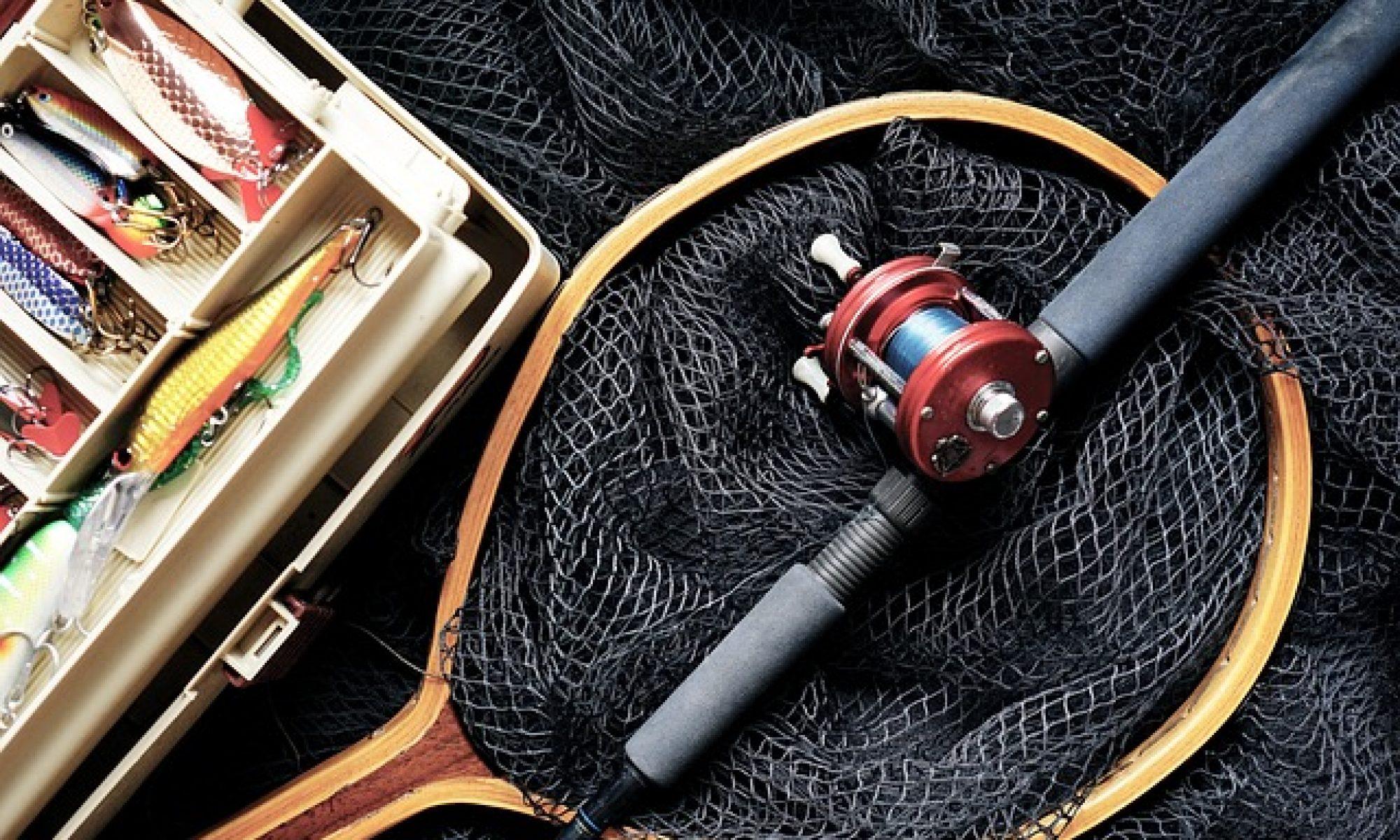 Assurez votre matériel de pêche...